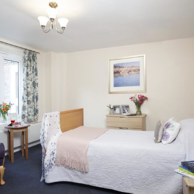 Bedroom at Priory Court Care Home Epsom